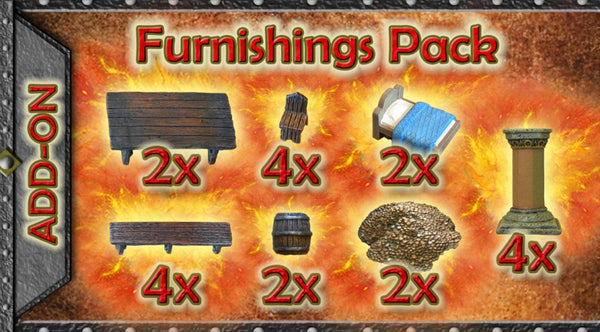Furnishings Pack (Expertly Hand Painted)