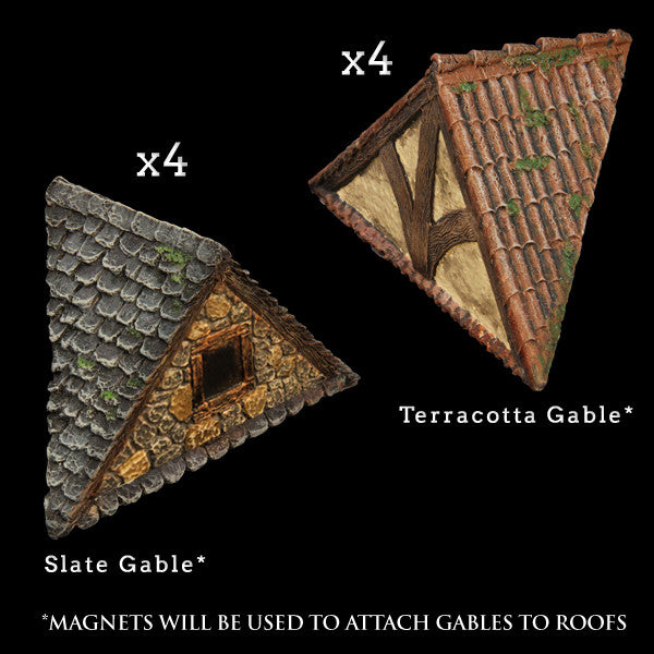 Gables Add-On Pack - Painted