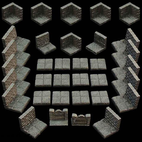 Game Tiles Set x 1 (Unpainted)