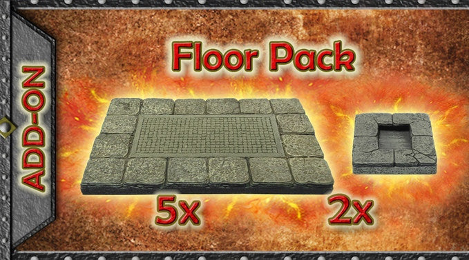 Dungeon Floor Pack A - Painted