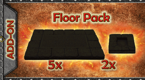 Dungeon Floor Pack A - Unpainted