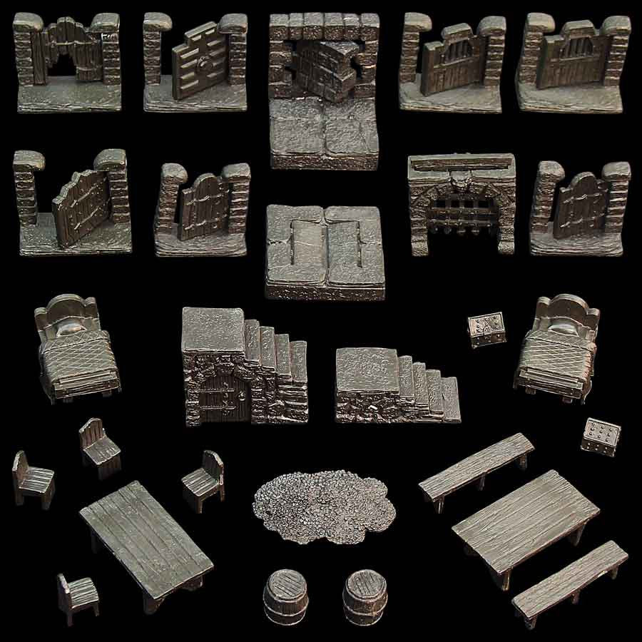 Dungeon Dressing Pack (Unpainted)