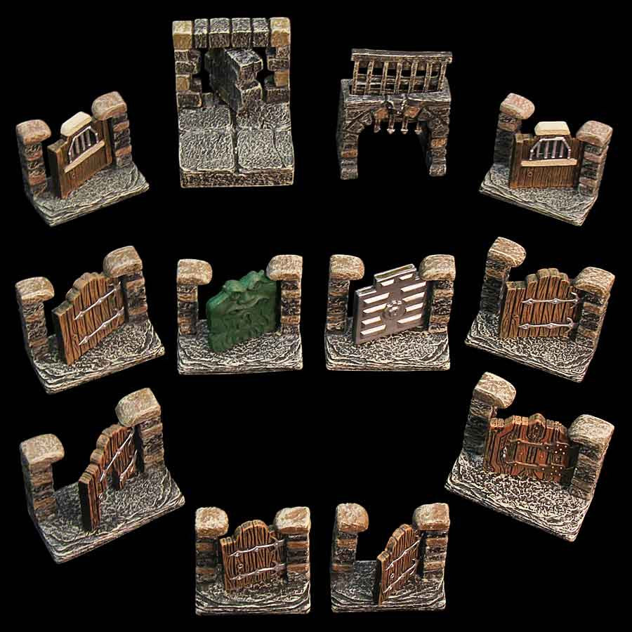 Door Pack/Dungeons (Expertly Hand Painted)