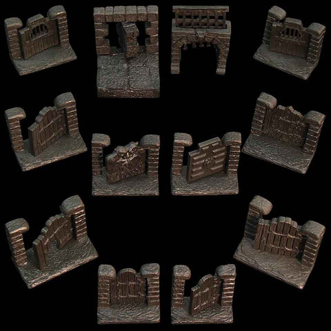 Door Pack/Dungeons - Unpainted