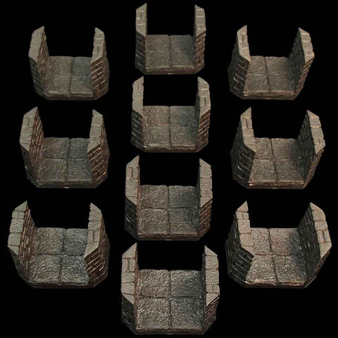Dungeon Passage Pack #2/Beveled Edges (Unpainted)