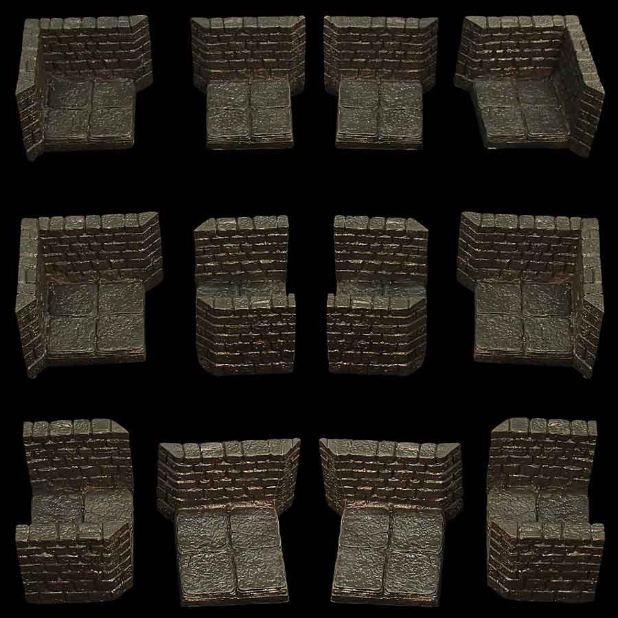 Dungeon Passage Pack #3/Assorted (Unpainted)