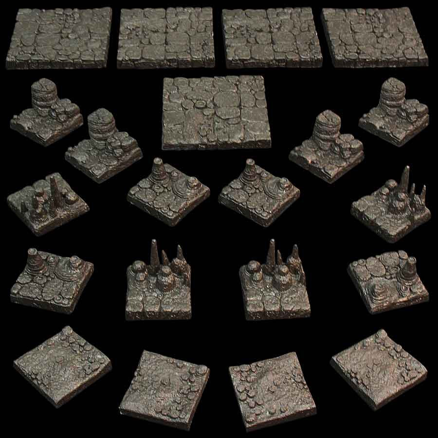 Cavern Floor Pack (Unpainted)