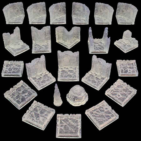 Ice Cavern Set (Unpainted)