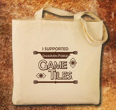 Canvas Tote Bag - KS1 - Game Tiles