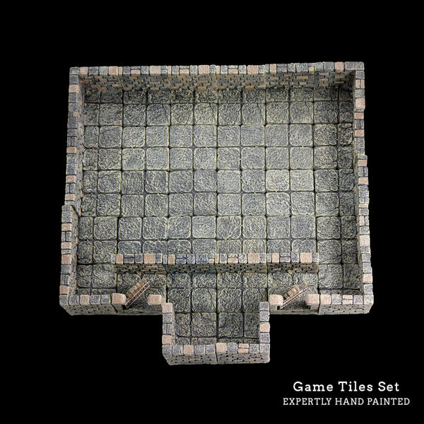 Game Tiles Set (Discontinued) REPLACED WITH STARTER DUNGEON AND CLASSIC REMASTERED SET