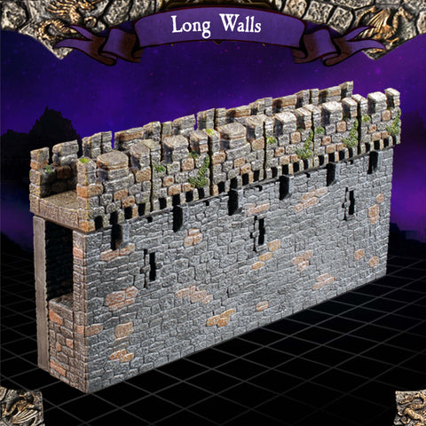 Long Wall  -Painted