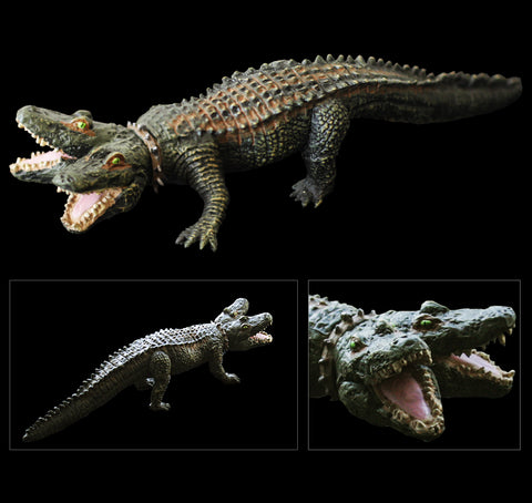Two-Headed Crocodile - Unpainted