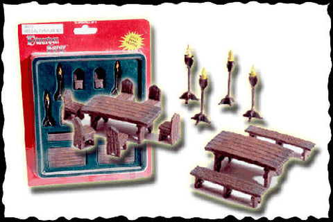 Medieval Furniture Set (Classic Resin)
