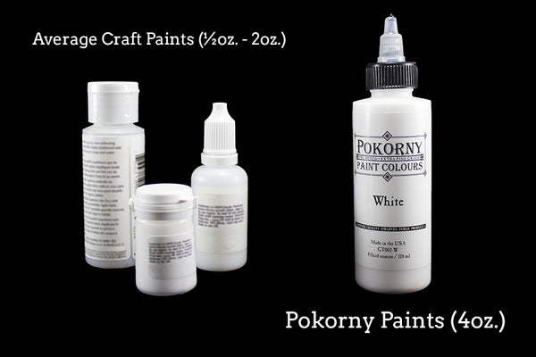 Pokorny Paint Colours (Water Bubbles Blue)