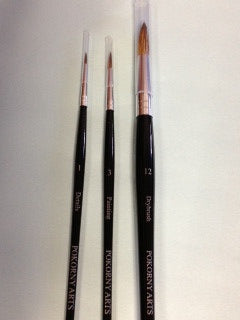 Pokorny Paintbrushes (3 pack)