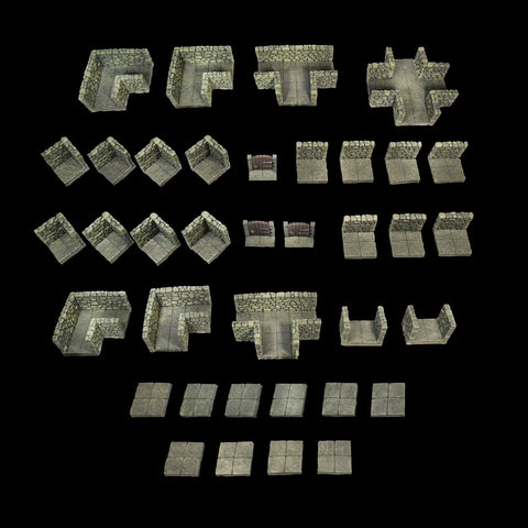 Room & Passage Set -- The First Dwarven Forge Set (Classic Resin)