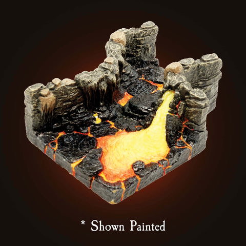 Lava Cave Entrance Pack - Unpainted