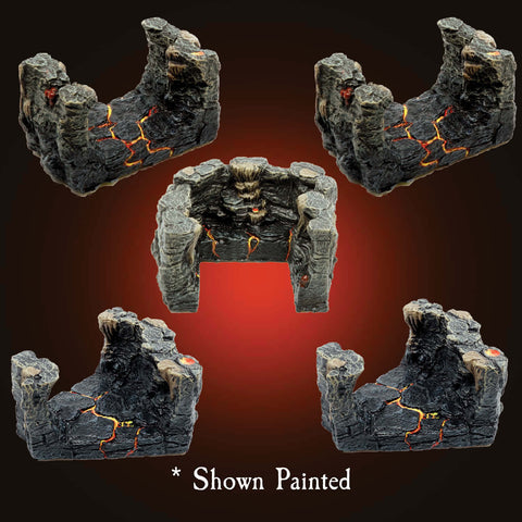 Lava Passages Pack - Unpainted