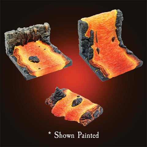 Magma River Features - Unpainted