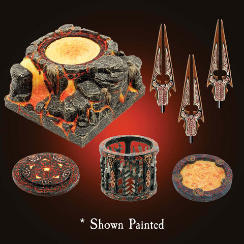 Pedestal of Pain Pack/Std Cavern Paint - Unpainted