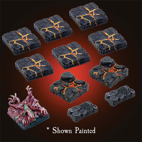 Lava Floors - Unpainted