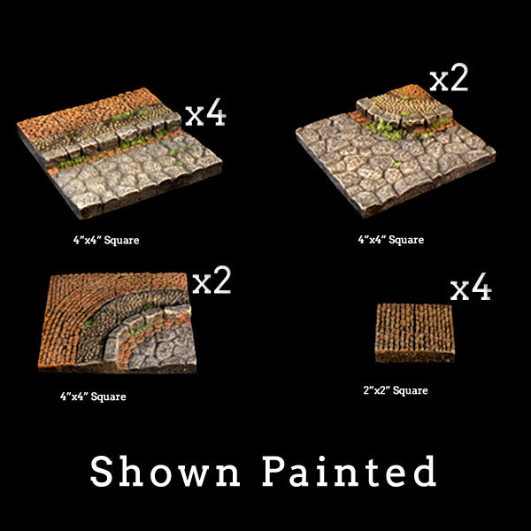 Stone Streets Add-On Pack (Unpainted)