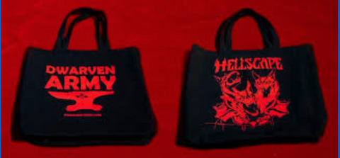 Canvas Tote Bag - Hellscape