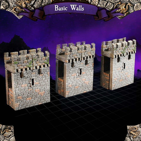 Basic Walls - Unpainted
