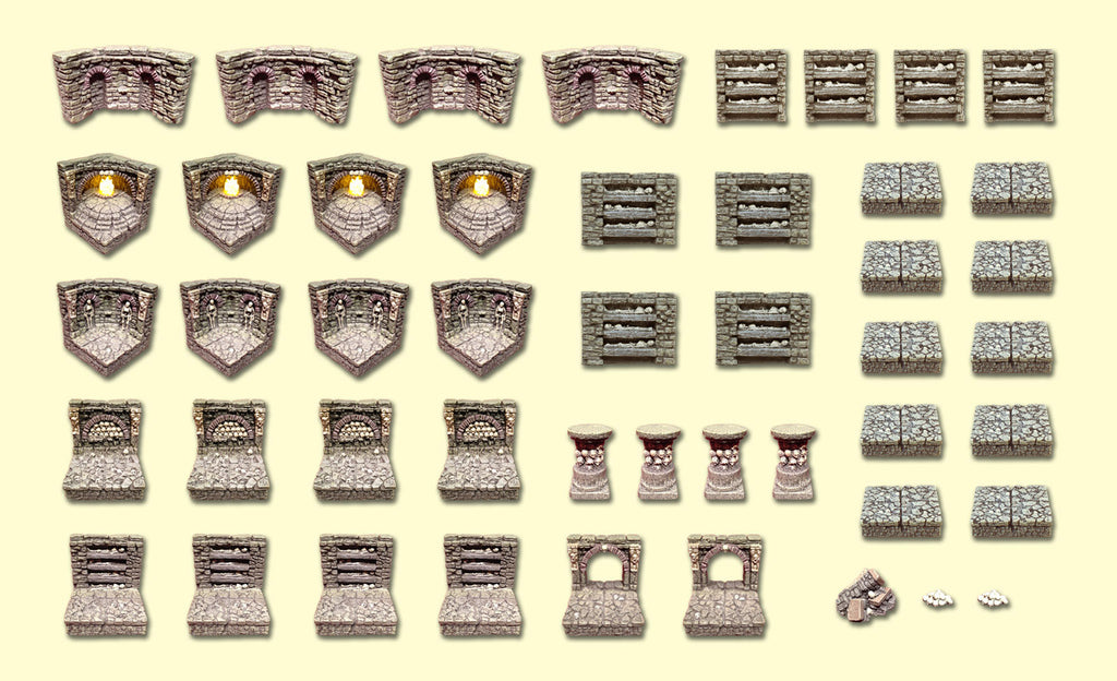 Catacombs Set - 47 pieces - Limit 1 Per Customer