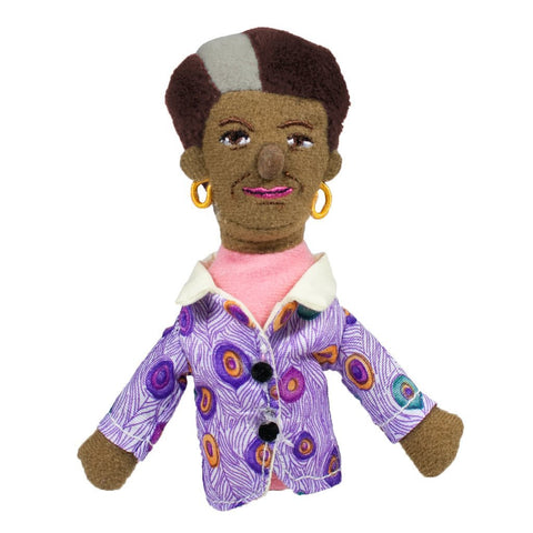 Maya Angelou Magnetic Personality Fridge Magnet Doll
