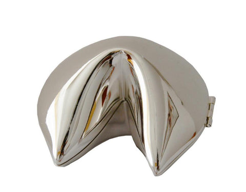 Motivational Fortune Cookie Box in Silver or Gold