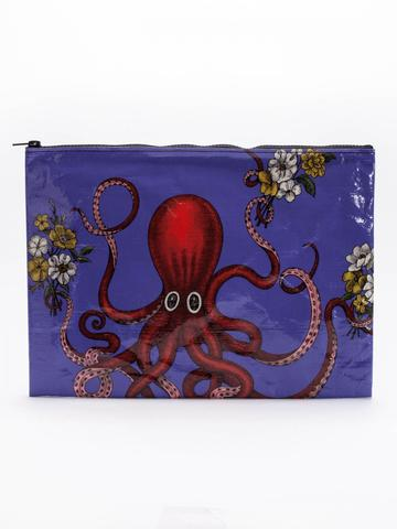 Octopus Jumbo Pouch in Recycled Material - $9.99
