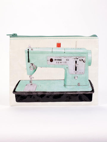 Sew-It Zipper Sewing Machine Recycled Material Cute/Cool/Unique Zipper Pouch/Bag/Clutch/Cosmetic Bag