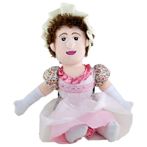 "Jane Austen 11"" Plush Doll"