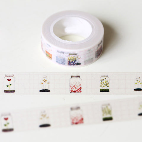 Flowers in a Bottle Washi Tape
