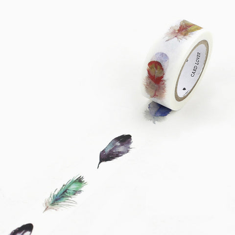On-Trend Feather Washi Tape