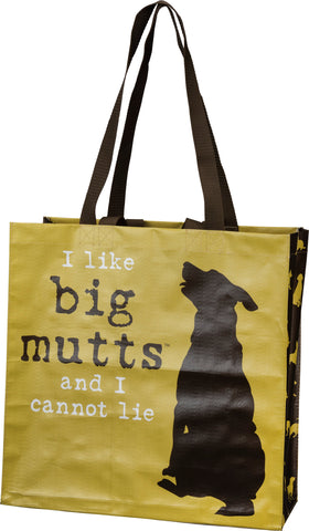 I Like Big Mutts And I Cannot Lie Market Tote Bag