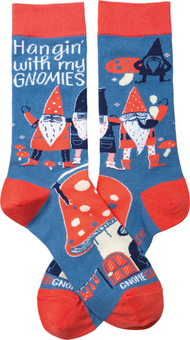Hangin' With My Gnomies Women's Crew Socks