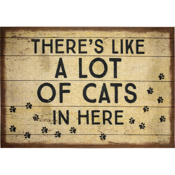 "There's Like A Lot Of Cats In Here Rug | 34"" x 20"" 