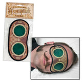 Steampunk Sleep Mask in Retro-Futuristic Goggles Design