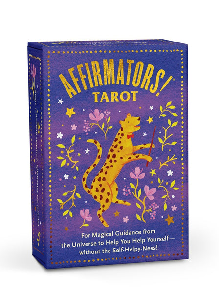 Affirmators! Tarot Deck For Magical Guidance From The Universe