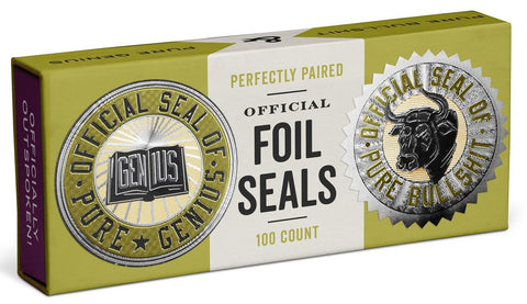 Official Seal of Pure Genius/Pure Bullshit Reward Foil Sticker