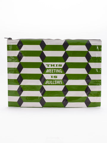 This Meeting Is Bullshit Jumbo Pouch