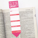 Does This Book Make Me Look Smart? Bookmark Pad