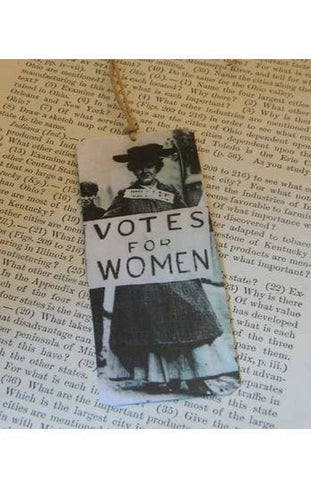 Feminist Votes for Women Steel Bookmark