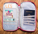 Gentlewomanly Travel Organizer in Bullish Pink