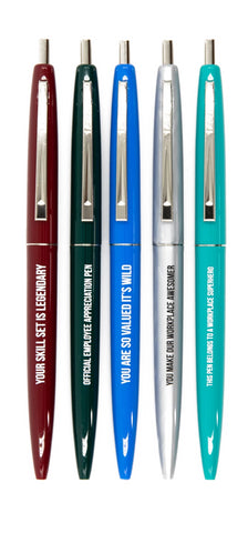 Official Employee Appreciation Pen Set