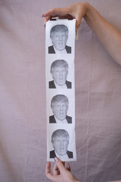 Donald Trump is an Asswipe Purse-Sized Toilet Paper Roll