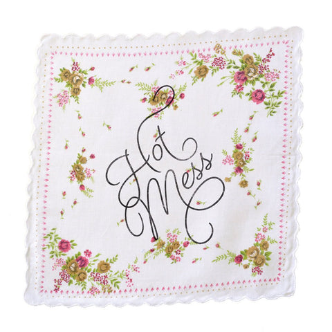 Boldfaced Goods - Hot Mess Handkerchief