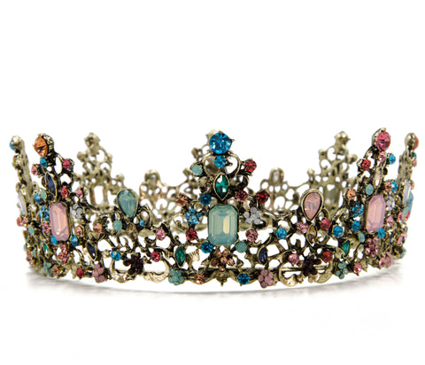 Princess of Pastels Luxe Tiara Crown